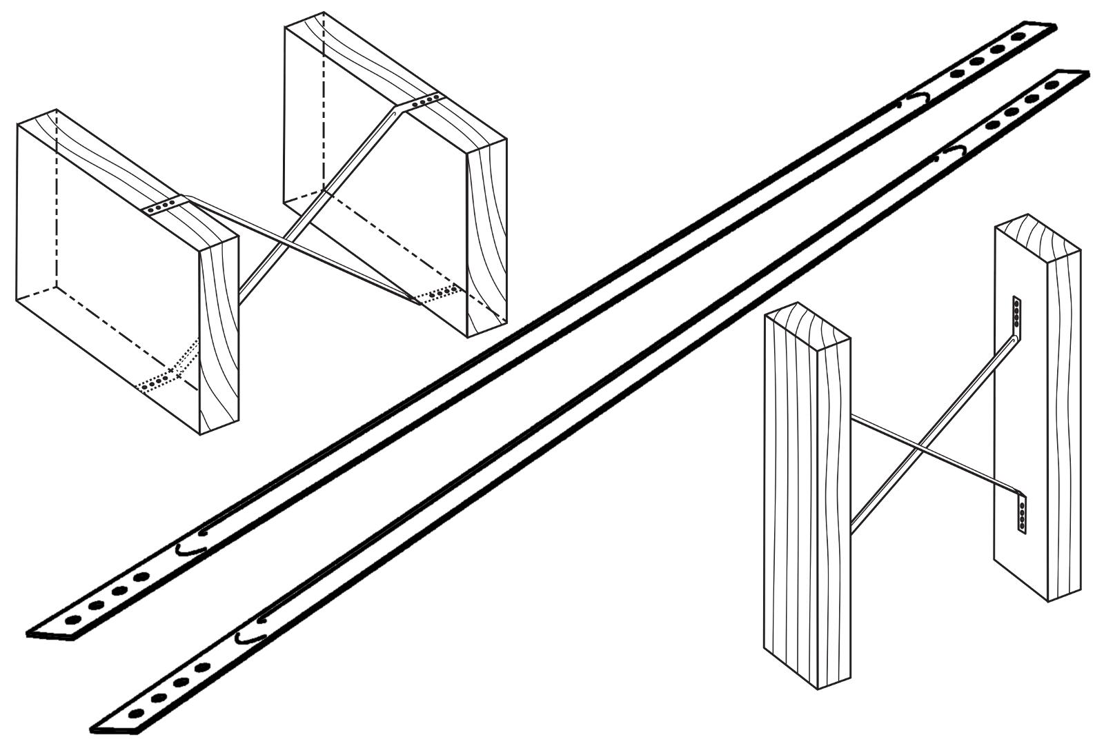 Pinquist Metal Building Supplies Floor Anchors Joist